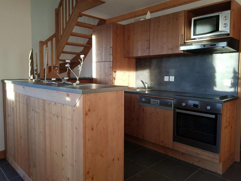 Holiday in mountain resort 4 room duplex apartment 10 people (C59) - Résidence Roc Belle Face C - Les Arcs - Kitchenette