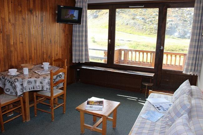 Vacances en montagne Studio 2 personnes (C2) - Résidence Roc de Péclet - Val Thorens