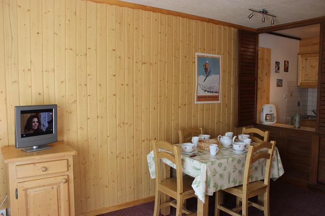 Vacances en montagne Studio coin montagne 4 personnes (C9) - Résidence Roc de Péclet - Val Thorens