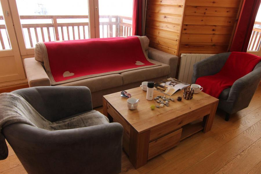 Vacances en montagne Appartement 5 pièces 8 personnes (A17) - Résidence Roc de Péclet - Val Thorens - Séjour