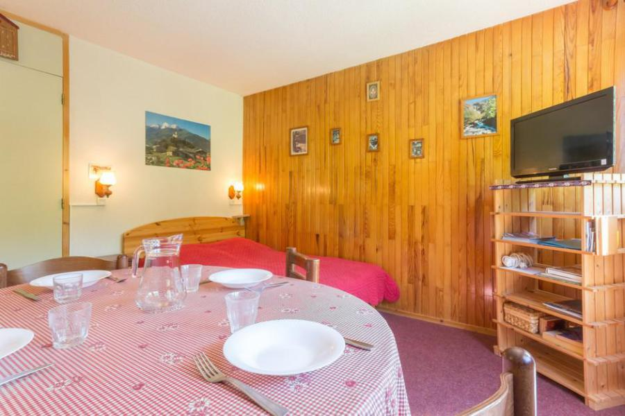 Holiday in mountain resort 2 room apartment 5 people (RTE13) - Résidence Rochette - Montchavin - La Plagne - Bunk beds