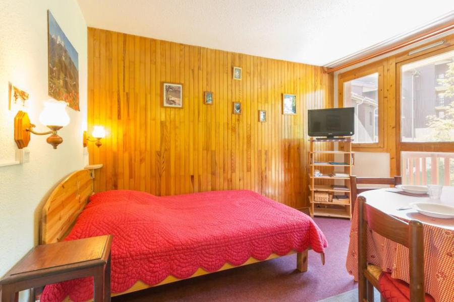 Holiday in mountain resort 2 room apartment 5 people (RTE13) - Résidence Rochette - Montchavin - La Plagne - Double bed