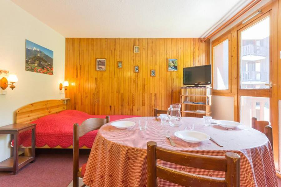 Holiday in mountain resort 2 room apartment 5 people (RTE13) - Résidence Rochette - Montchavin - La Plagne - Living room