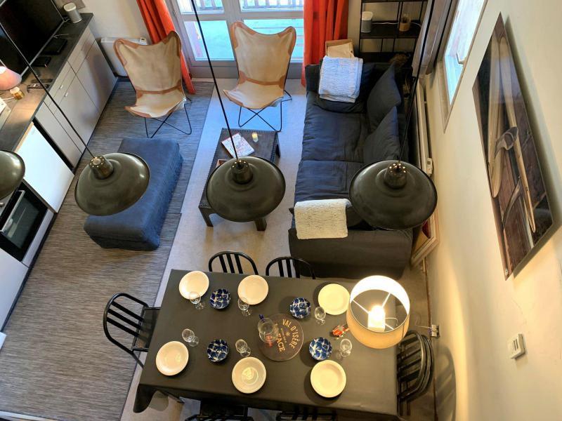 Wakacje w górach Apartament 4 pokojowy 6 osób (24R) - Résidence Rond-Point des Pistes I - Val d'Isère - Stołem