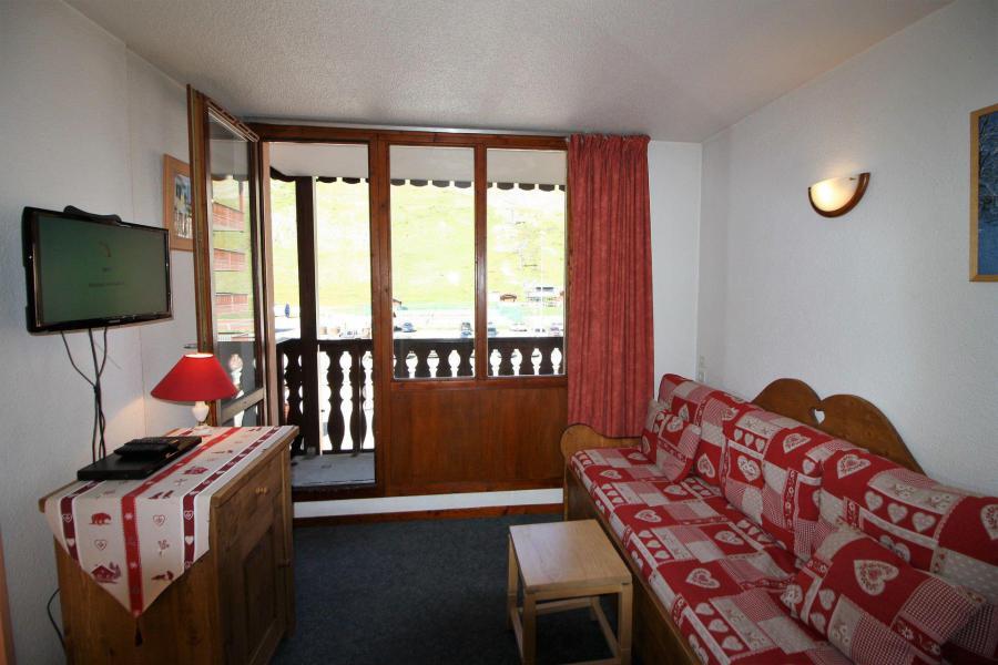 Каникулы в горах Квартира студия кабина для 4 чел. (106CL) - Résidence Rond Point des Pistes - Tignes - Диван кровать