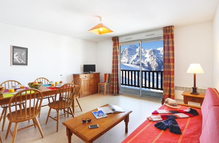 Urlaub in den Bergen Résidence Royal Peyragudes - Peyragudes - Couchtisch