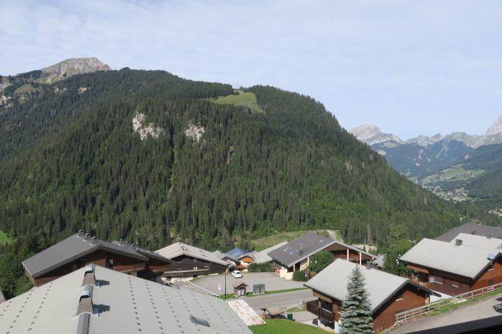 Wakacje w górach Apartament 3 pokojowy 6 osób (B16) - Résidence Sabaudia - Châtel - Na zewnątrz latem