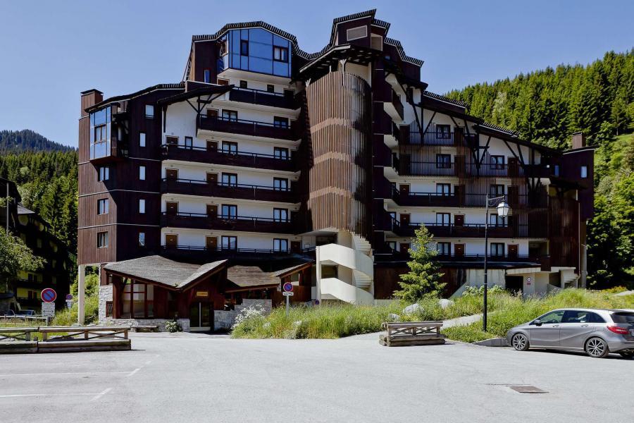 Location au ski Residence Saboia B - La Tania - Extérieur été