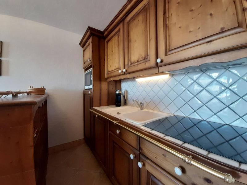 Vakantie in de bergen Appartement 3 kamers 6 personen (C7) - Résidence Saint Bernard - Les Arcs