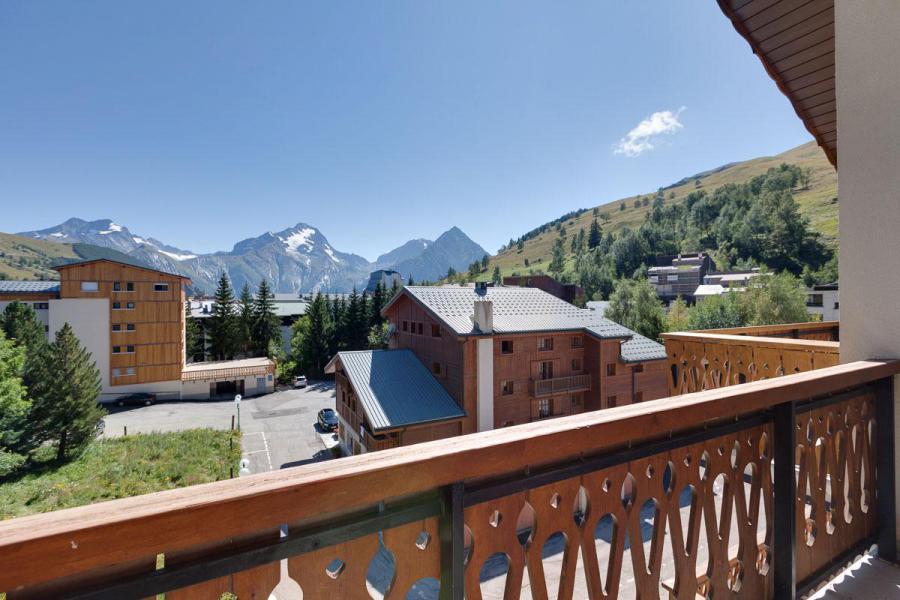 Location au ski Résidence Saint Christophe - Les 2 Alpes - Extérieur été