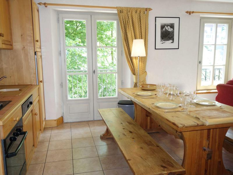Holiday in mountain resort 3 room apartment 5 people (3) - Résidence Saint Gervais - Saint Gervais - Summer outside