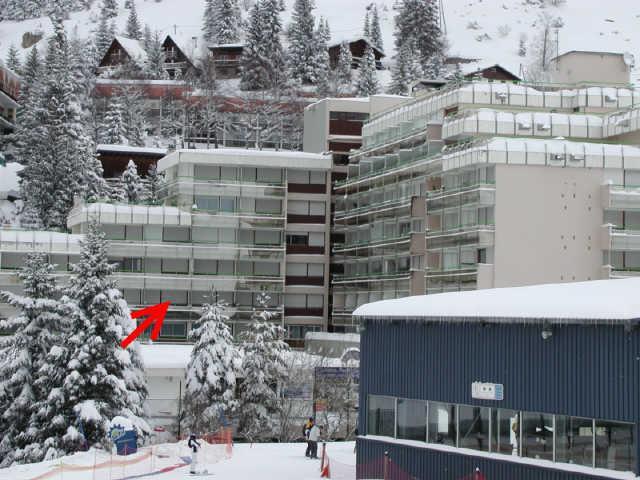 Holiday in mountain resort Studio 6 people (SAN49) - Résidence Sanctus - Gourette