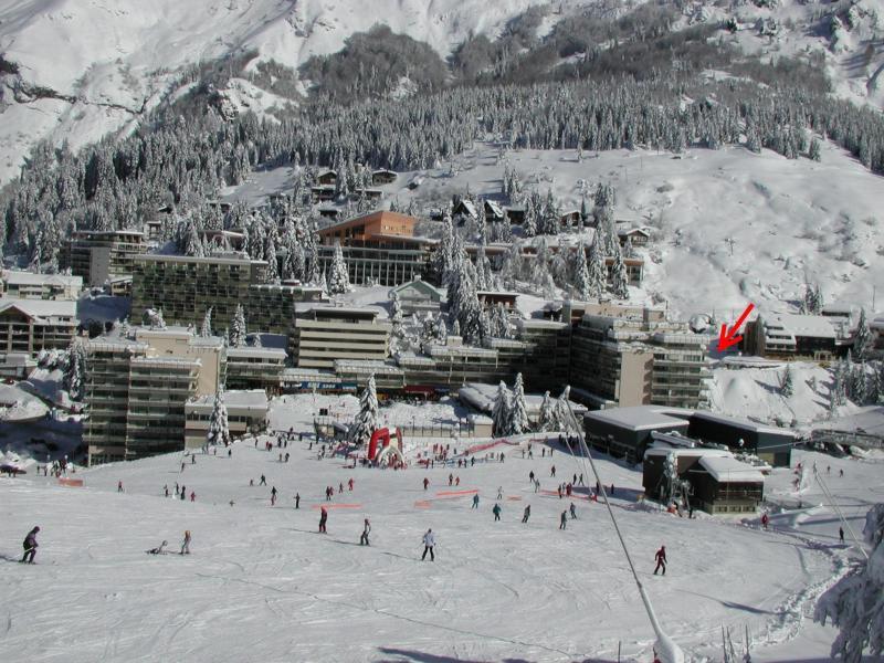 Holiday in mountain resort Studio 6 people (SAN136) - Résidence Sanctus - Gourette