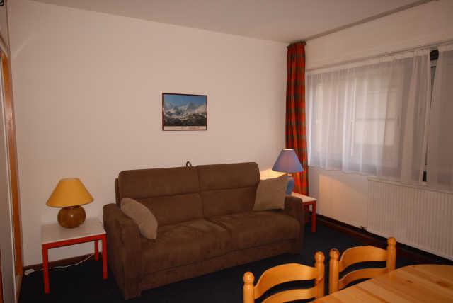 Holiday in mountain resort Studio 6 people (SAN113) - Résidence Sanctus - Gourette