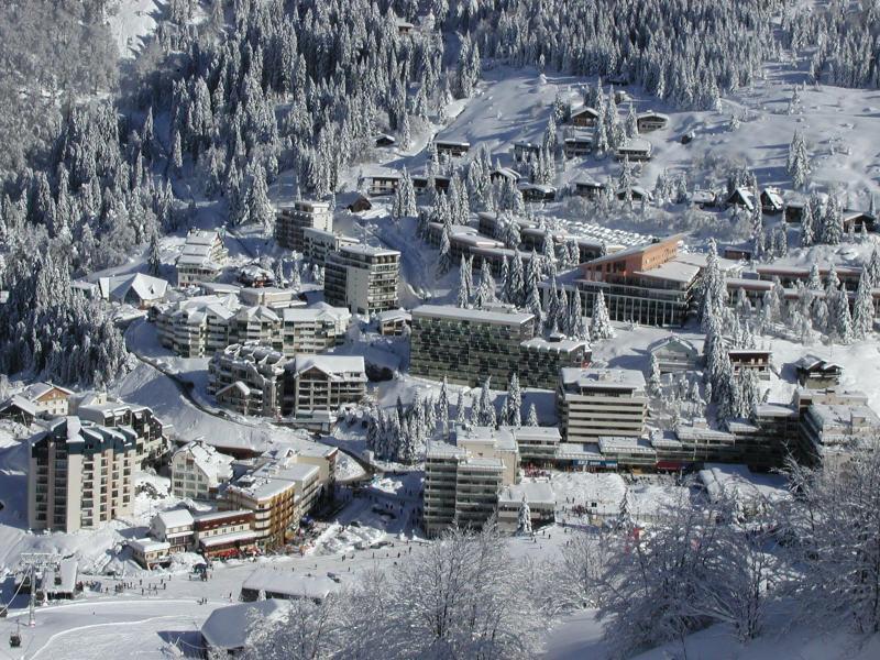 Holiday in mountain resort Studio 6 people (SAN152) - Résidence Sanctus - Gourette