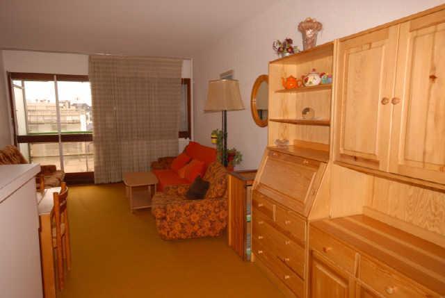 Holiday in mountain resort Studio 4 people (SAN105) - Résidence Sanctus - Gourette