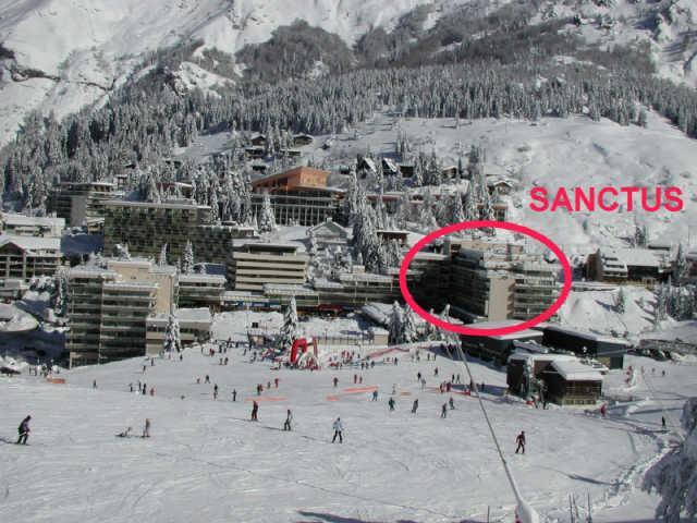 Holiday in mountain resort Logement 1 pièces 6 personnes (SAN47) - Résidence Sanctus - Gourette