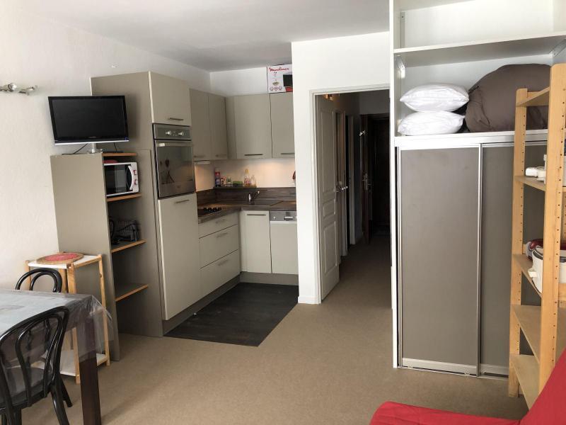 Holiday in mountain resort Logement 1 pièces 6 personnes (SAN47) - Résidence Sanctus - Gourette - Dining area