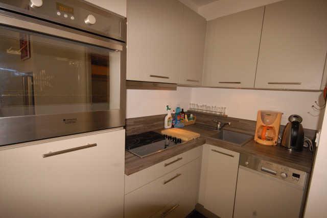 Holiday in mountain resort Logement 1 pièces 6 personnes (SAN47) - Résidence Sanctus - Gourette - Kitchen