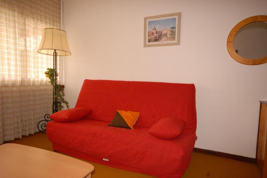 Holiday in mountain resort Studio 4 people (SAN105) - Résidence Sanctus - Gourette - Bed-settee