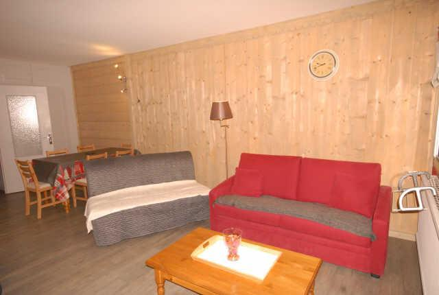 Holiday in mountain resort Studio 4 people (SAR123) - Résidence Sarrière - Gourette - Living room