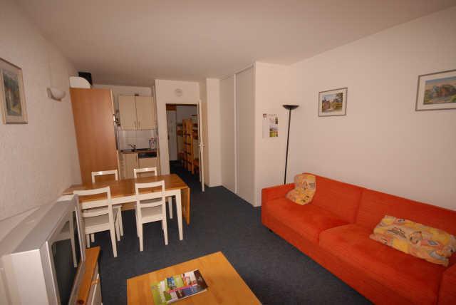 Urlaub in den Bergen Studio für 6 Personen (SAR198) - Résidence Sarrière - Gourette - Wohnzimmer