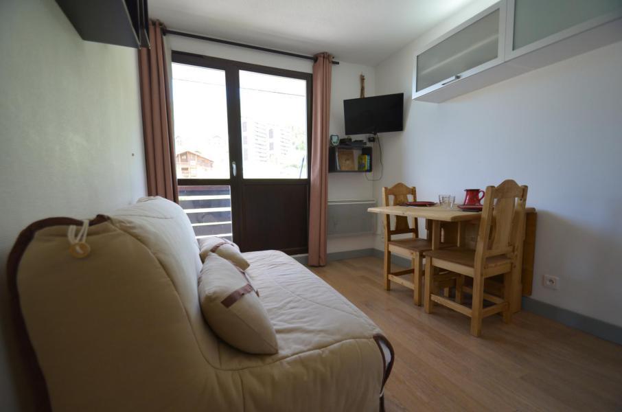 Vacances en montagne Studio cabine 2 personnes (501) - Résidence Sarvan - Les Menuires - Séjour