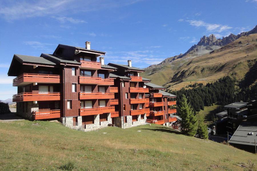 Location au ski Résidence Saulire - Méribel-Mottaret - Extérieur été
