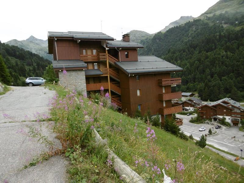 Location au ski Résidence Sérac - Méribel-Mottaret - Extérieur été