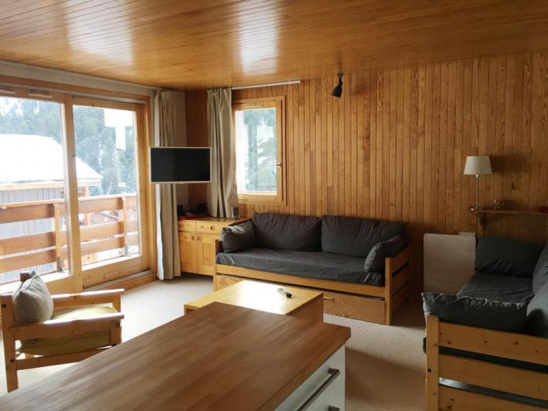 Vacances en montagne Appartement 3 pièces 7 personnes (002) - Résidence Sérac - Méribel-Mottaret - Séjour