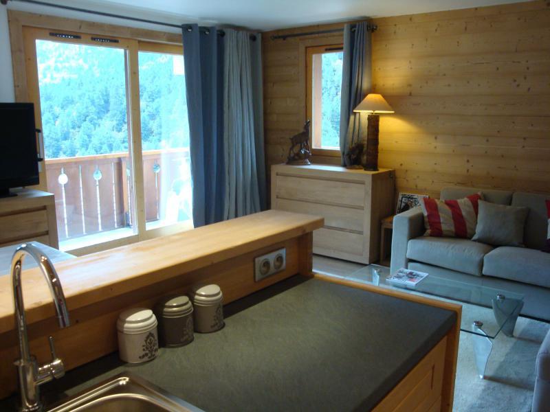 Vacances en montagne Appartement 3 pièces cabine 7 personnes (007) - Résidence Sérac - Méribel-Mottaret - Logement