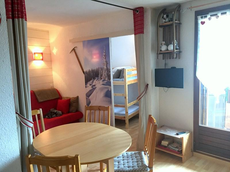 Wakacje w górach Studio z alkową 4 osoby (201) - Résidence Serac - Puy-Saint-Vincent - Pokój gościnny