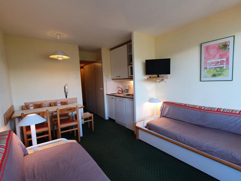 Vacances en montagne Appartement 2 pièces 5 personnes (104) - Résidence Sextant - Montchavin La Plagne - Banquette
