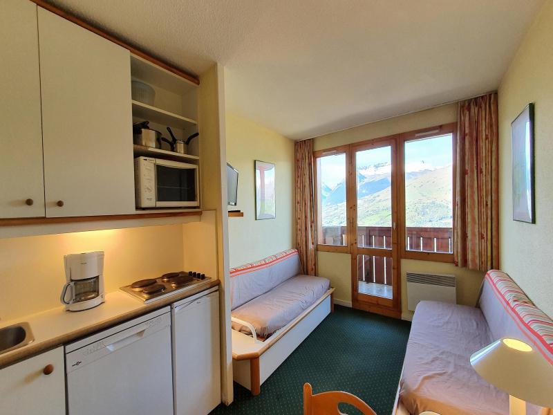 Vacances en montagne Appartement 2 pièces 5 personnes (104) - Résidence Sextant - Montchavin La Plagne - Séjour