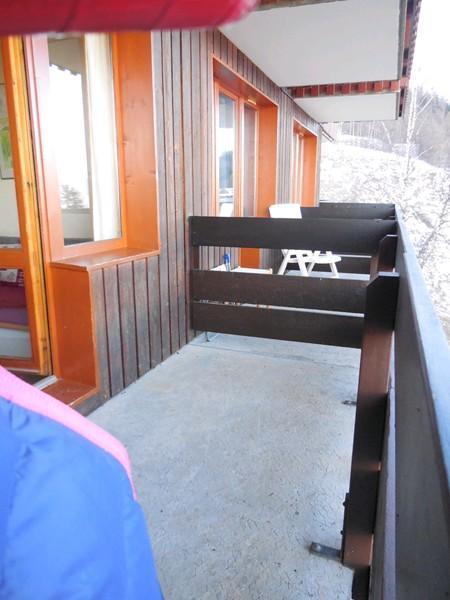 Vacances en montagne Studio coin montagne 4 personnes (214) - Résidence Sextant - Montchavin La Plagne - Balcon