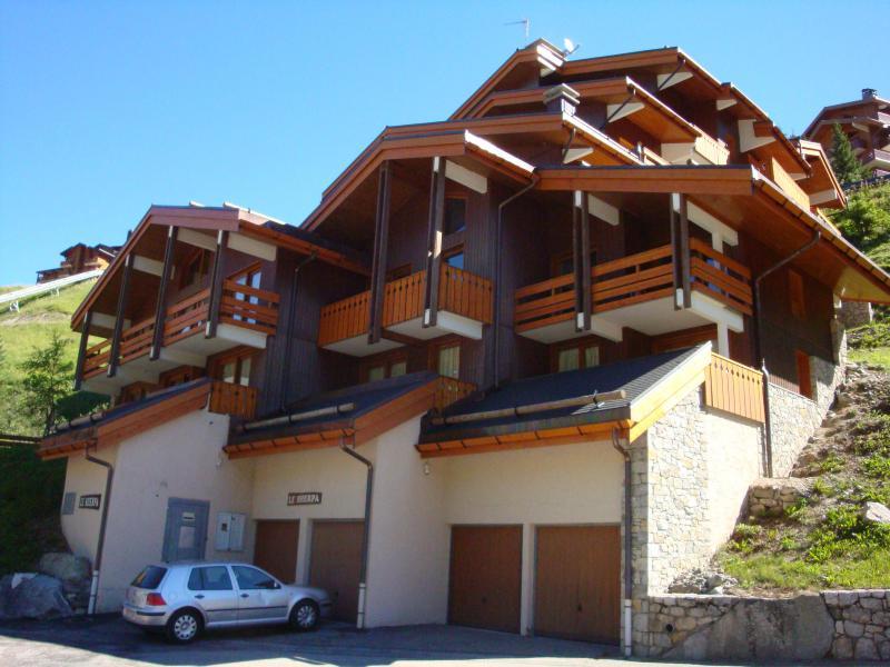 Location au ski Appartement 2 pièces 4 personnes (010) - Résidence Sherpa - Méribel-Mottaret - Extérieur été