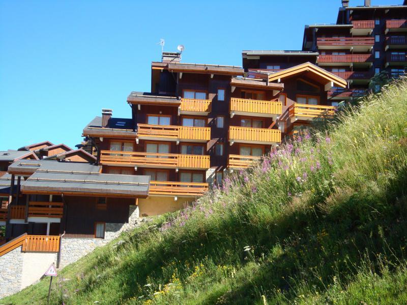Location au ski Résidence Sherpa - Méribel-Mottaret - Extérieur été