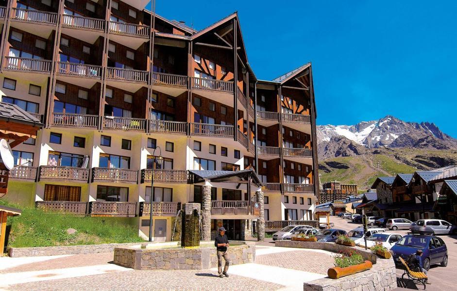 Location au ski Résidence Silveralp - Val Thorens - Extérieur été