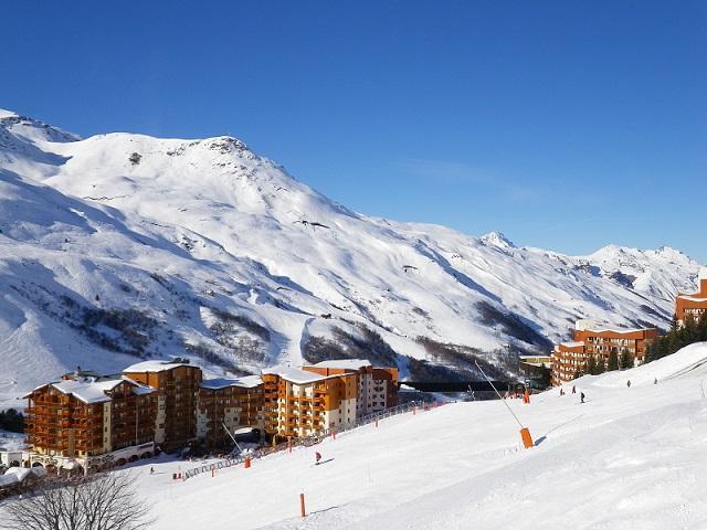 Vacances en montagne Résidence Ski Soleil - Les Menuires
