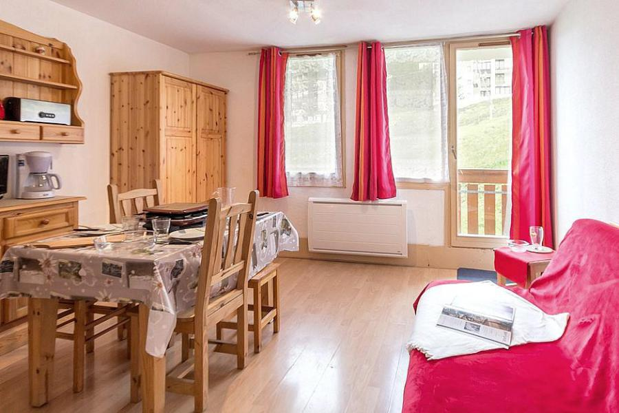 Holiday in mountain resort Studio cabin 4 people (002) - Résidence Ski Soleil I - Les Menuires