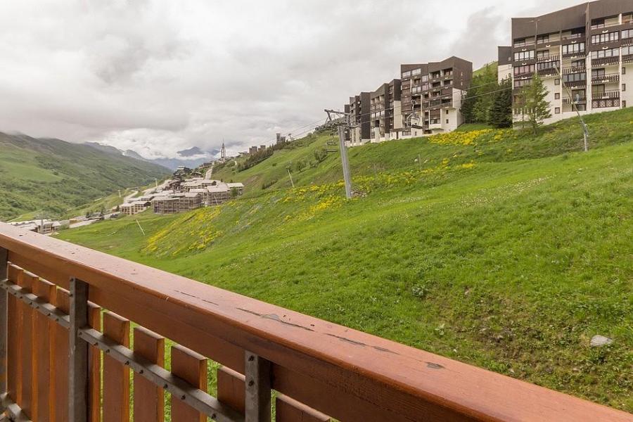 Holiday in mountain resort Studio sleeping corner 4 people (102) - Résidence Ski Soleil I - Les Menuires
