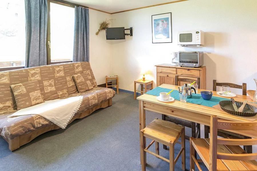 Holiday in mountain resort Studio sleeping corner 4 people (103) - Résidence Ski Soleil I - Les Menuires