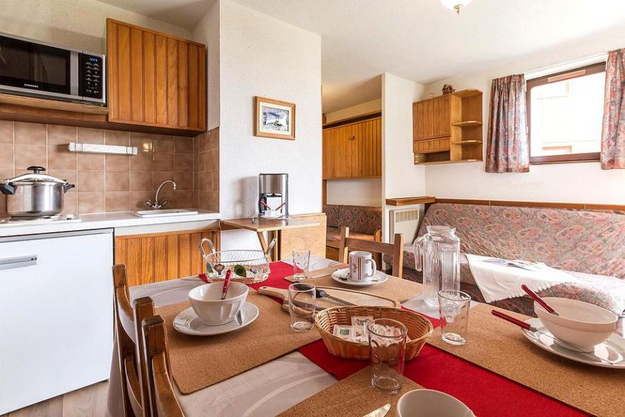 Holiday in mountain resort 2 room apartment 5 people (401) - Résidence Ski Soleil I - Les Menuires