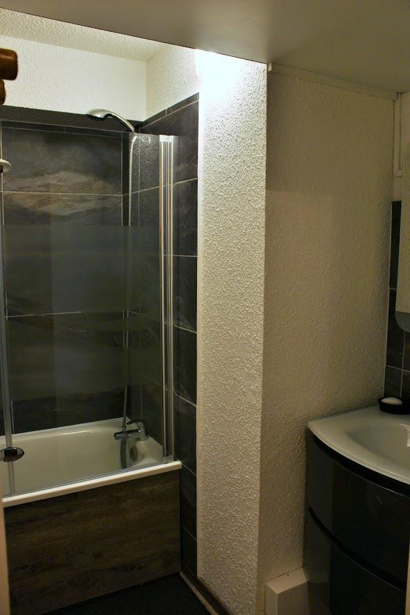 Holiday in mountain resort 2 room apartment sleeping corner 6 people (2206) - Résidence Ski Soleil II - Les Menuires - Bath-tub