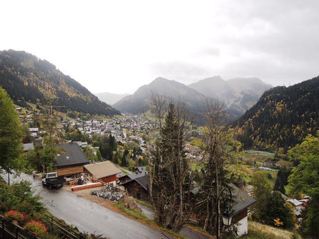 Location au ski Studio cabine 4 personnes (8) - Résidence Solarium - Châtel - Extérieur été