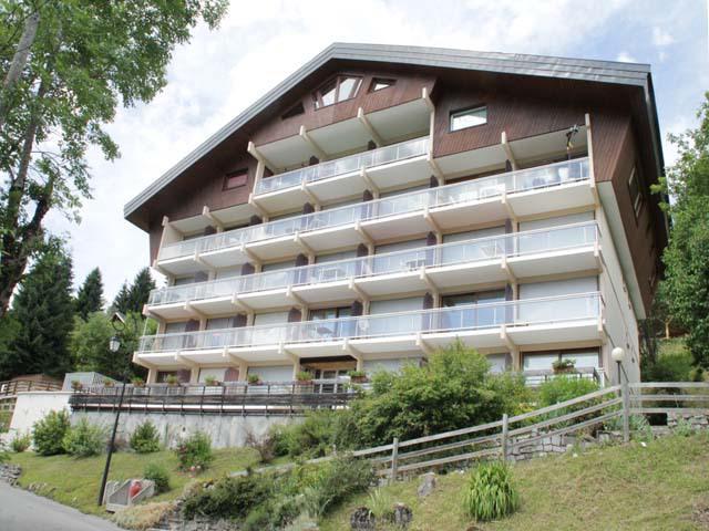 Location au ski Résidence Solarium - Châtel - Extérieur été