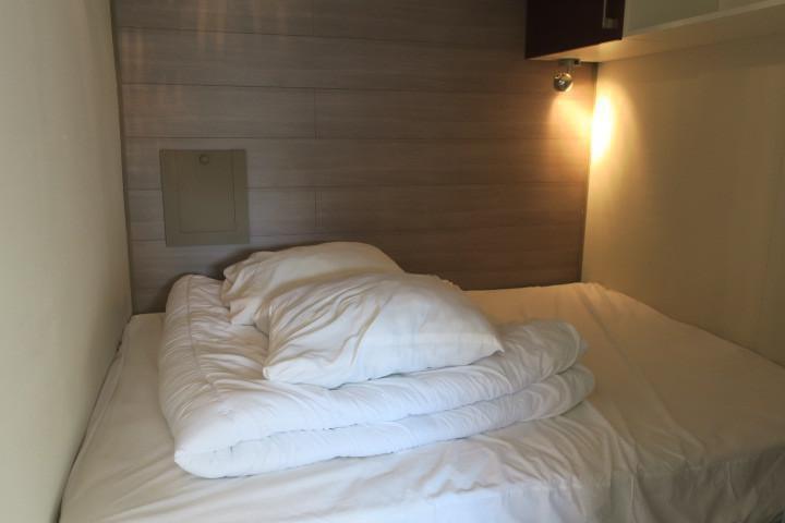 Vacances en montagne Studio cabine 4 personnes (8) - Résidence Solarium - Châtel - Chambre