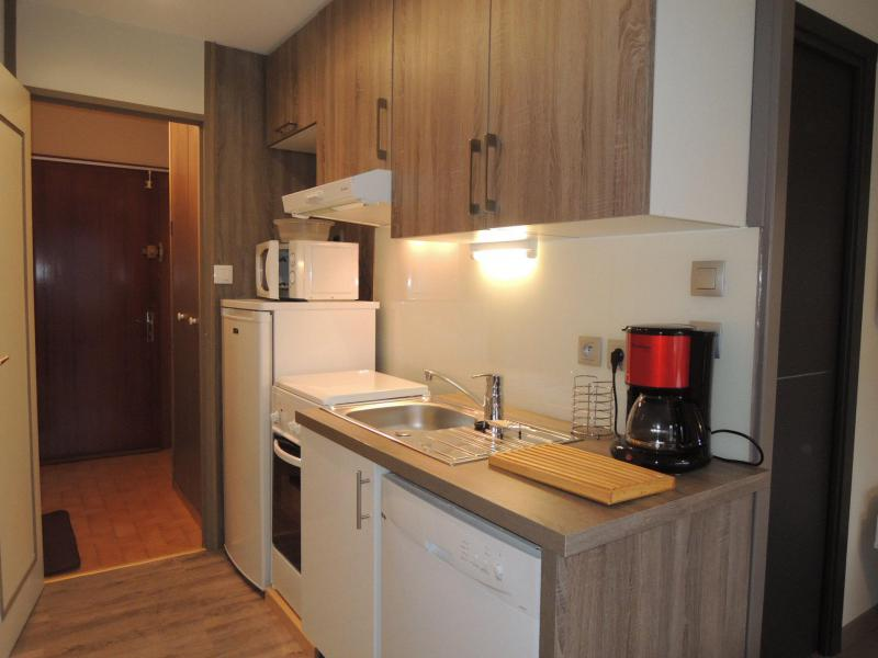 Vacances en montagne Studio cabine 4 personnes (8) - Résidence Solarium - Châtel - Kitchenette