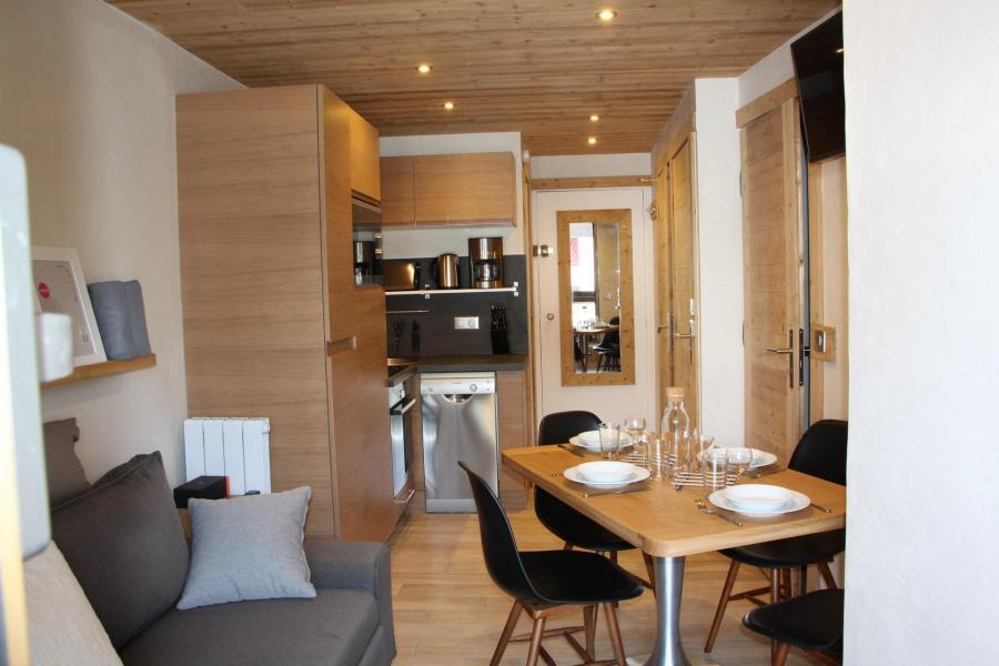 Vacances en montagne Appartement 2 pièces cabine 4 personnes (104) - Résidence Soldanelles - Les Menuires