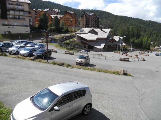 Location au ski Studio cabine 4 personnes (263) - Residence Soldanelles - Risoul - Extérieur été